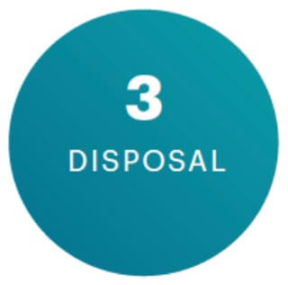 Step 3: Disposal