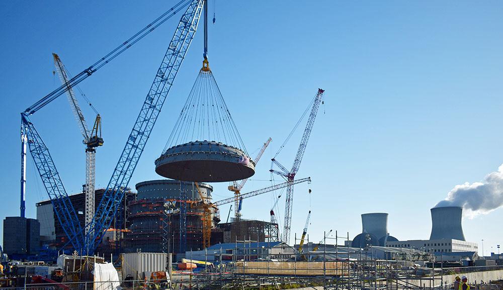 Bechtel nuclear power plant project